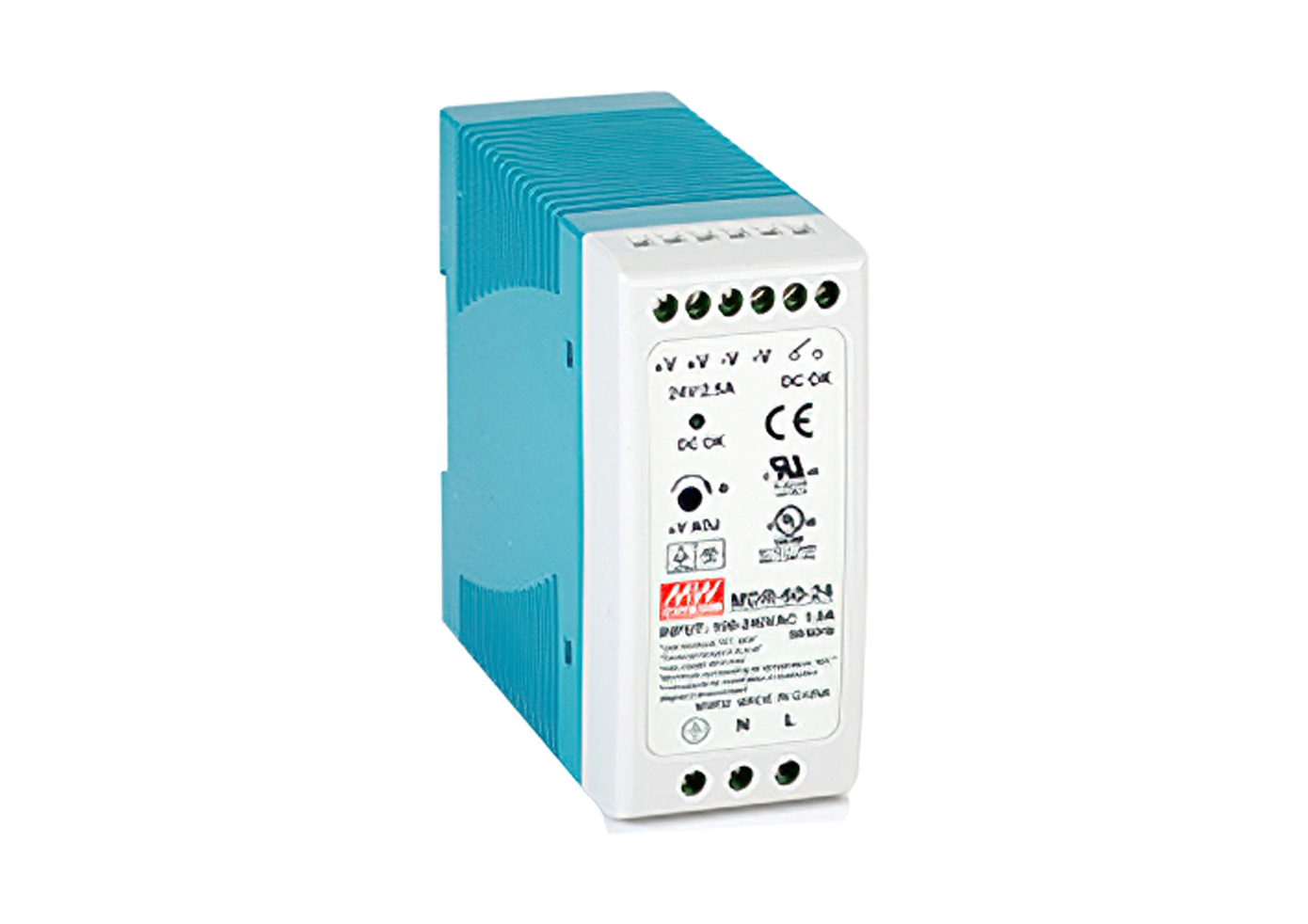"Power Supply, Single Output, DIN Rail, 24VDC, 2.5A<br/><span class=""clsSpnProdMdls"">For all products, except Industrial PC</span>"